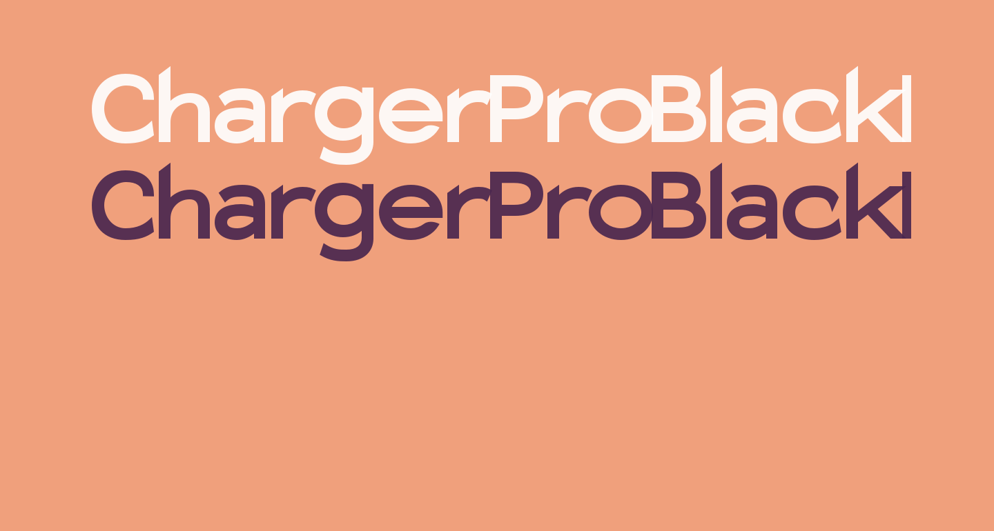 Charger Pro Black Extended