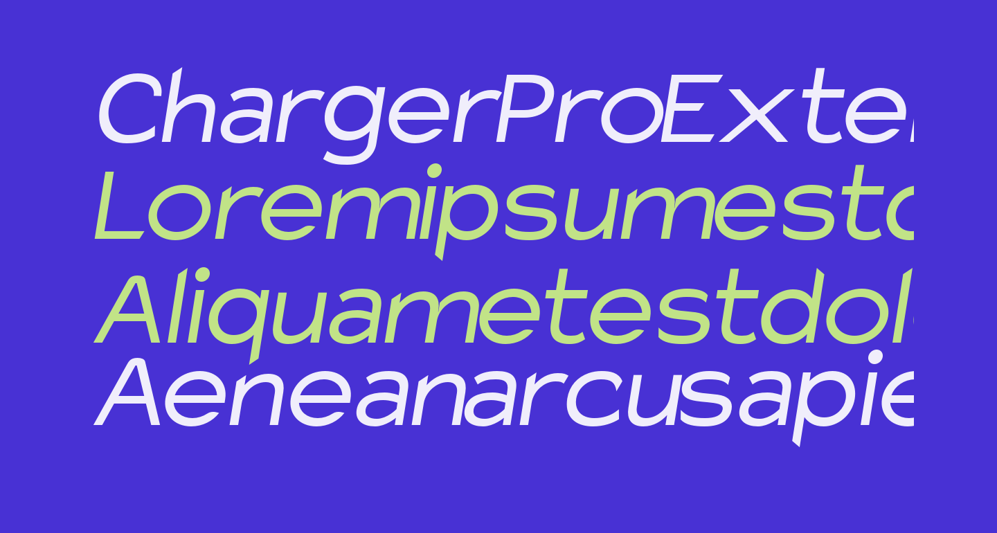 Charger Pro Extended Oblique