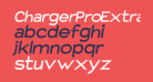 Charger Pro Extrabold Extended Oblique