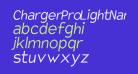 Charger Pro Light Narrow Oblique