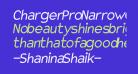 Charger Pro Narrow Oblique