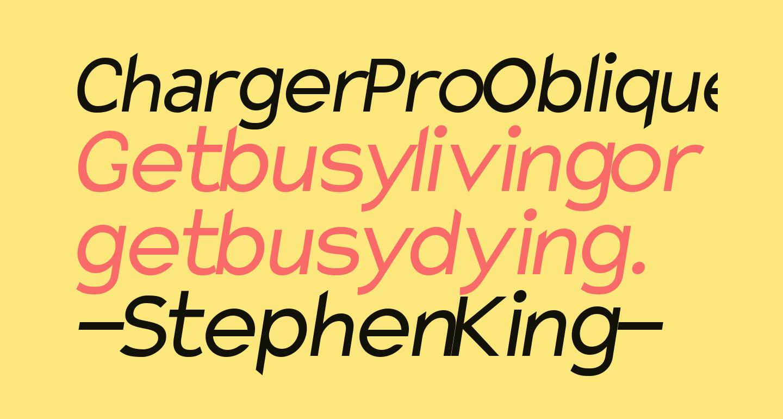 Charger Pro Oblique