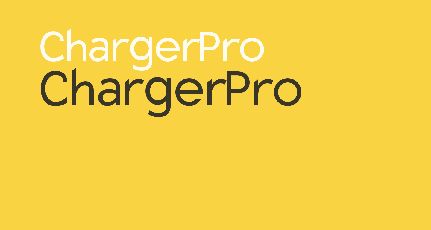Charger Pro