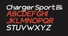 Charger Sport Black Extended Oblique