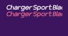 Charger Sport Black Oblique