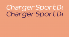 Charger Sport Defiance Bold Extended Oblique