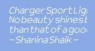 Charger Sport Light Oblique