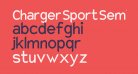 Charger Sport SemiBold Narrow