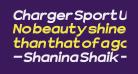 Charger Sport Ultrablack Extended Oblique