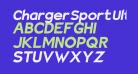 Charger Sport Ultrablack Oblique