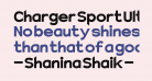 Charger Sport Ultrablack
