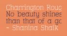 Charrington Roughened