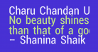 Charu Chandan Unicode