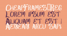 CheapFrames-Regular