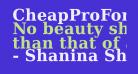 CheapProFonts Serif Pro Bold
