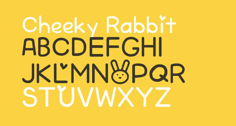 Cheeky Rabbit