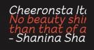 Cheeronsta Italic