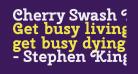 Cherry Swash Bold