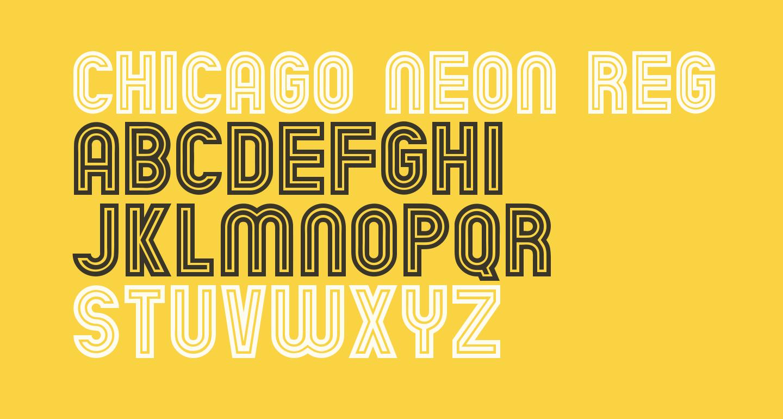 Chicago Neon Regular