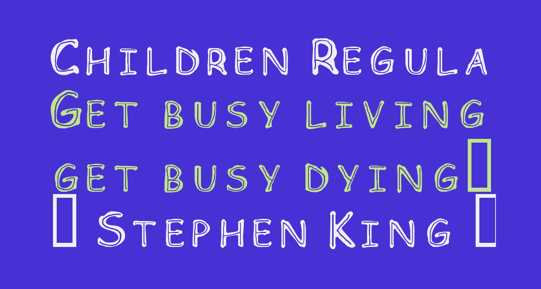 Children Regular