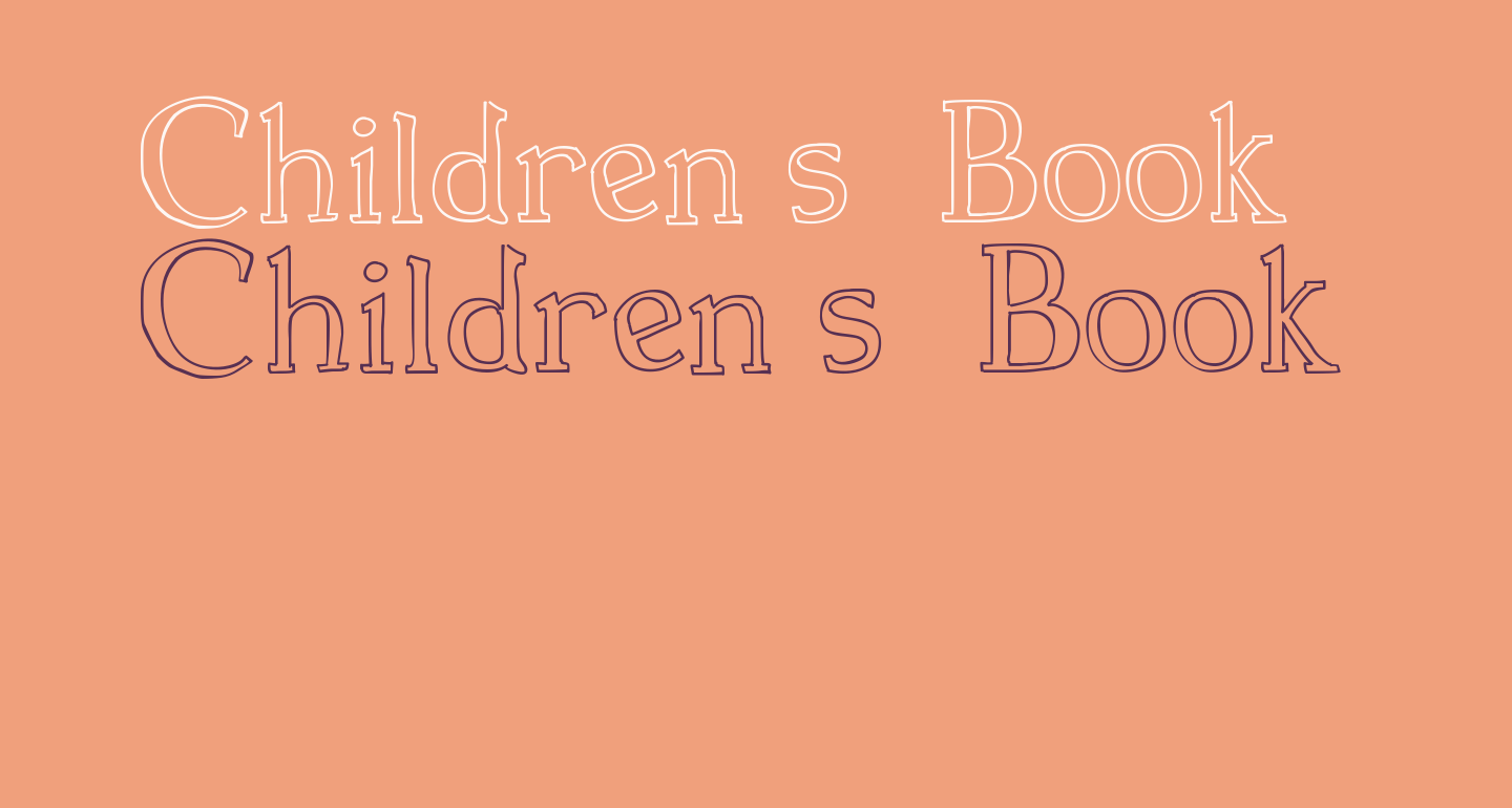 Children s  Book