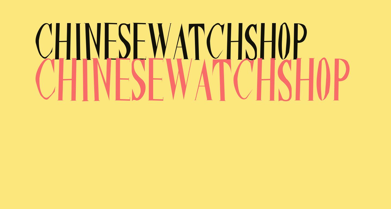 ChineseWatchShop