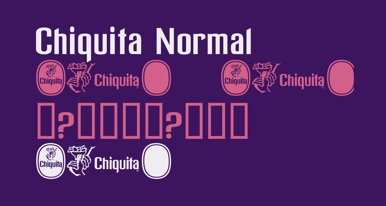 Chiquita Normal