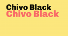 Chivo Black