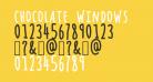 Chocolate Windows