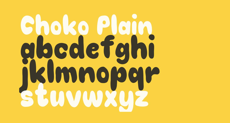 Choko Plain