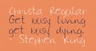 Christa Regular