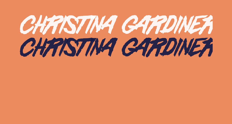 Christina Gardiner Sans