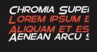 Chromia Supercap Bold Italic
