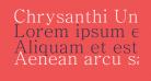Chrysanthi Unicode Regular