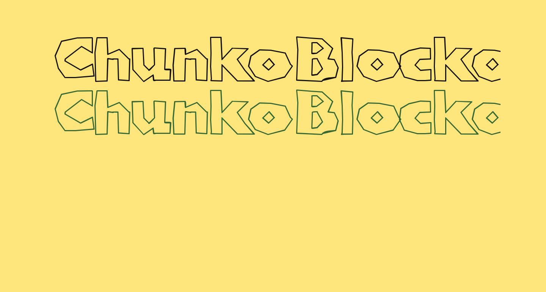 ChunkoBlockoOutlineHeavy