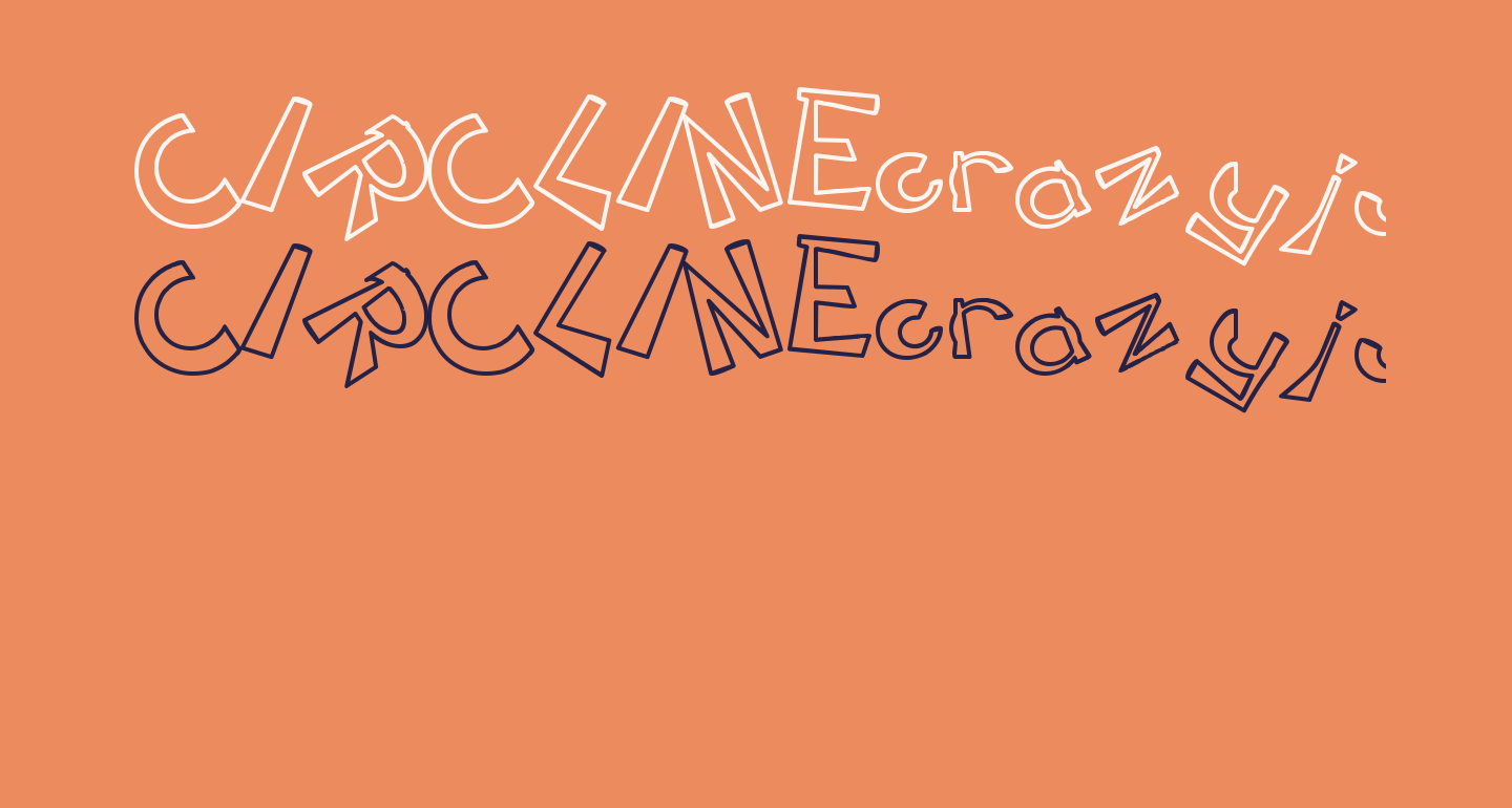 CIRCLINEcrazyjumped  outline