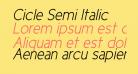 Cicle Semi Italic