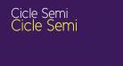 Cicle Semi