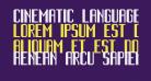 Cinematic Language Regular