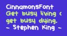 CinnamonsFont