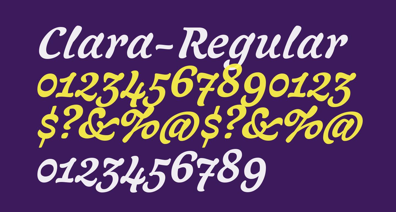 Clara-Regular