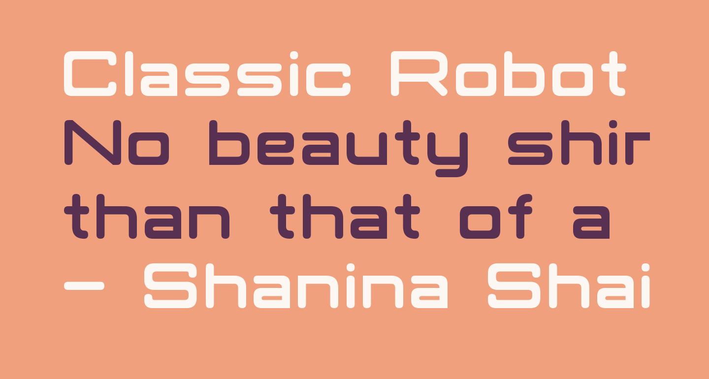 Classic Robot