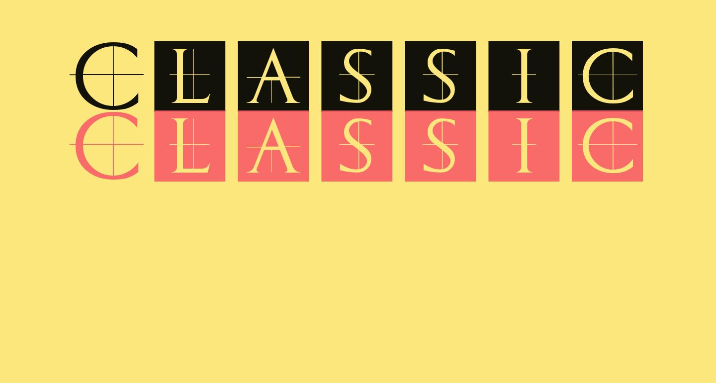 ClassicRomanCaps