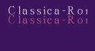 Classica-Roman Regular