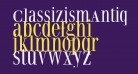 ClassizismAntiquaBook