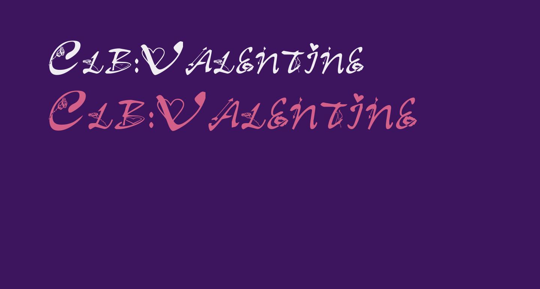 Clb:Valentine