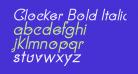 Clocker Bold Italic