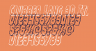Clubber Lang 3D Italic