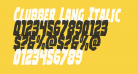 Clubber Lang Italic