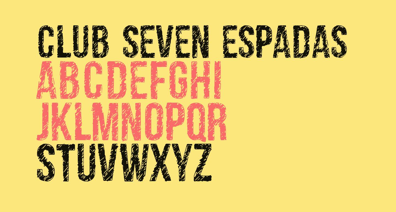 club seven espadas